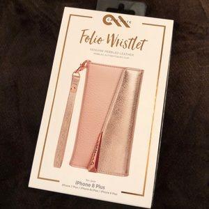 Case-mate Folio Wristlet for Iphone 8/7 Plus